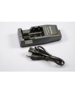 Ultrafire WF-139 Laddare för 18650 / CR123A / 14500 Uppladdningsbara litiumbatterier