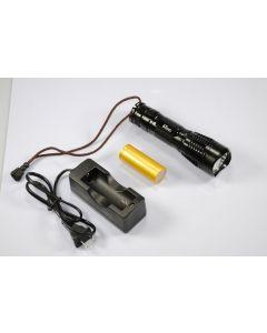 Uniquefire UF-2180 CREE XM-L T6 3-Mode 1200-Lumen Memory LED ficklampa Inkluderar Batry & Laddare
