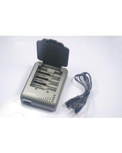 Trustfire TR-003P4 Uppladdningsbar batteriladdare för 10440/14500/16340/17670/18500/18650