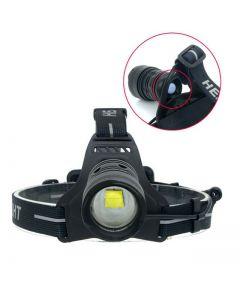 CREE XHP70 30W strålkastare LED HEADLAMP 6800LM ZOOM Huvudlampa