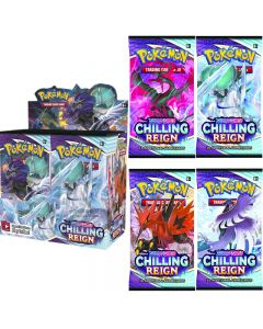 360st Pokémon TCG: Sword & Shield Chilling Reign Booster Display Box Collection Card