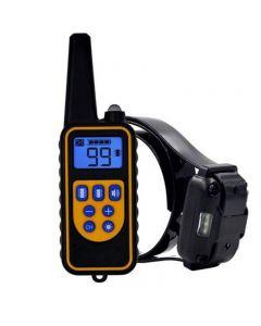 2020 New Dog Training Device Bark Control Collar Pet Dog Vibration Remote Control Hund Drive Ultraljud Elektronisk Krage Dubbel Vibrationer