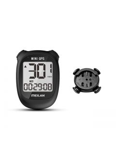 Meilan M3 MINI GPS Cykeldator cykel GPS Hastighetsmätare Höjd Höjd DST Ridtid Trådlös cykeldator