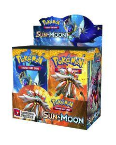 Pokemon kort TCG: Sun & Moon Booster Box Trading Card 36 packs