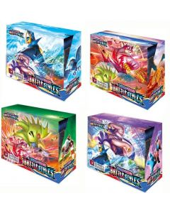 2021 Ny 4x360pcs Pokemon TCG: Sword & Shield Battle Styles Booster Box Trading Card Game Collection Toys