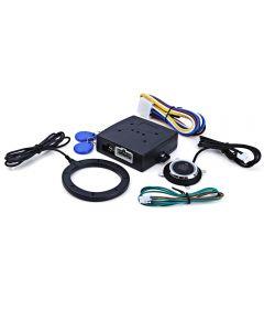 Auto Car Alarm Car Engine Push Startknapp RFID Lock Tändning Starter Keyless Entry Starta Stopp Ickobilisator Anti-thyt-system