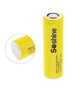 Soshine IMR 21700 Batteri 3.7V 14.8WH 4000MAH Li-Ion Rechargeable Batteri