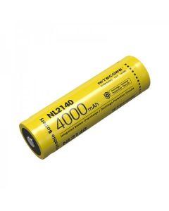 Nitecore NL2140 4000MAH 3.6V 14.4WH 21700 Li-Ion Rechargeable Batteri