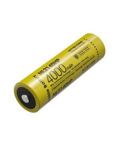 Nitecore NL2140HP 4000MAH 3.6V 14.4WH 21700 Li-Ion Rechargeable Batteri
