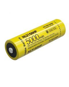Nitecore NL2150HP 5000MAH 3.6V 18WH 21700 Li-ion uppladdningsbart batteri