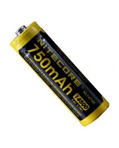 Nitecore NL1475R 750MAH14500 3.6V 2,7WH AA Micro-USB Uppladdningsbart Li-Ion Batteri