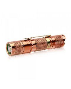 Lumintop Tool AA 2.0 Copper Cree XP-L HD LED 650 Lumens AA / 14500 EDC ficklampa