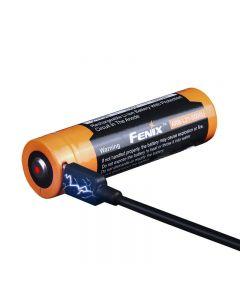 Fenix Arb-L21-5000U USB Uppladdningsbart 21700 Li-Ion Batteri