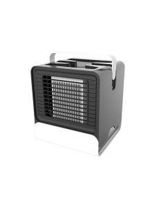 USB mini bärbar luftkonditionering luftfuktare renare ljus skrivbordsluft kylfläkt luftkylare fläkt för kontor hem