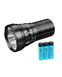 Imalent R60C 1038 meter USB LED-ficklampa 18000 Lumens Hög kraftfullt ljus Vattentät med 21700 batteri