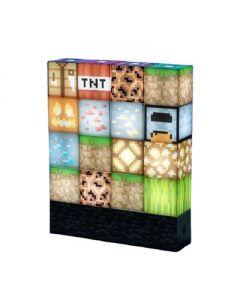 Nattlampa DIY Blocks Novelty Desk Lamp Fun for Kids Stackbara Stitching Stand Lamp Dekoration Ornament