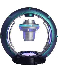 Magnetisk levitationshögtalare, roterande flytande högtalare Bärbar Bluetooth -högtalare Cool kreativ konstdesign Levitating Bluetooth -högtalare