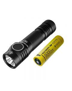 Nitecore E4K 4 x CREE XP-L2 V6 LED 4400 Lumens 21700 Batterilampa