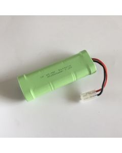 Ni-MH 7,2V 2500MAH SC (3 + 3) RC Vit plug batteri