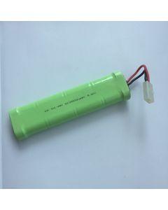Ni-MH 2500MAH 9.6V SC * 8 RC Vit Plug Batteri