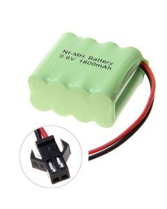 Ni-MH AA SM-kontakt 9.6V 1800mAh batteripaket