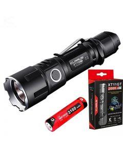 Klarus XT11GT CREE XPH35 HD E4 2000 Lumen LED ficklampa