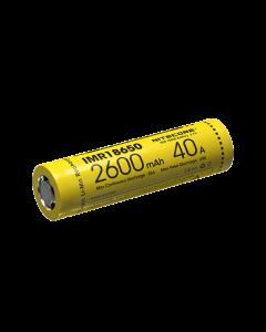 Nitecore IMR18650 2600MAH 40A Uppladdningsbart batteri -1PC