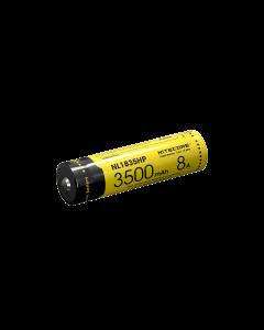 Nitecore NL1835HP 3500MAH 3.6V 12.6WH 8A högpresterande 18650 batteri