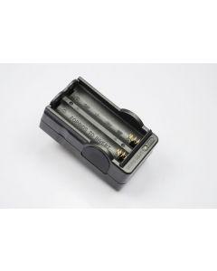 OEM Digital Batteriladdare för 2x18650 Uppladdningsbara batterier