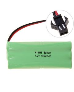 Ni-MH AA 1800MAH 7.2V Big SM-kontaktbatteri