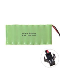 Ni-MH AA 9.6V 1800mAh SM-kontaktbatteri