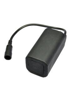 Vattentät 8,4V 4 * 18650 Uppladdningsbart batteri för cykelljus