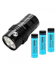 Imalent MS06 6 Cree XHP70.2 25000 Lumens LED ficklampa