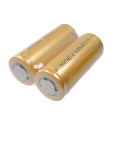 Högkapacitet 26650 4000mAh Li-Ion Rechargeable Batteri (1 par)