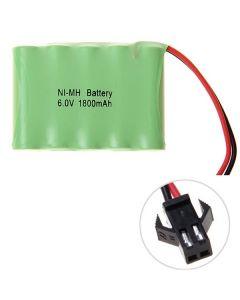 Ni-MH AA 1800mah 6V big sm-kontaktbatteri