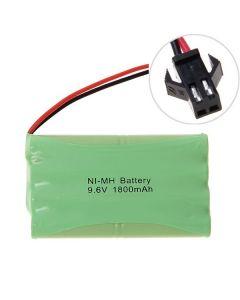 Ni-MH AA 9.6V 1800MAH Large SM-kontaktbatteri