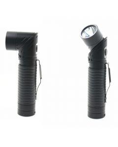 USB-uppladdningsbar LED CREE XM-L T6 700 LUMENS Justerbar-strålkastare Magnet Ficklampa Torch
