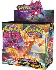360pcs Pokémon TCG: Sword & Shield Darkness Ablaze Segled Booster Box 36 Packs Cards