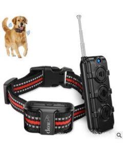 Hund walker elektronisk hund träningsenhet vibrationsutbildning hund fjärrkontroll hund träningsenhet korrigera dåliga vanor