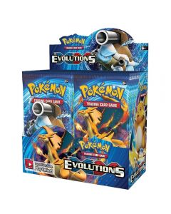 Pokemon TCG: XY Evolutions Förseglade Booster Box Collectible Trading Cards 36 packs