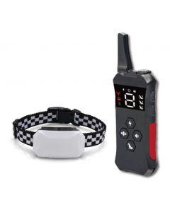 2021 Ny hundträningskrage med fjärruppladdningsbar Vattentät chockkrage för hundar 3 träningslägen, pip Vibrationer och chock