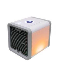 USB Mini bärbar luftkonditionering luftfuktare renare 7 färger Lätt skrivbordsluftkylfläkt luftkylare fläkt för kontor hem