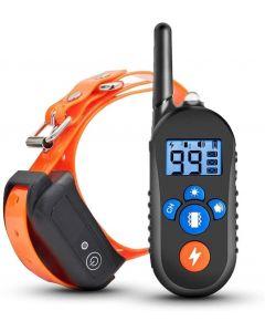 800m Electric Dog Training Collar Pet Remote Control Vattentät uppladdningsbar hund Shock Collar w / 3 träningsläge för små medelstora stora hundar