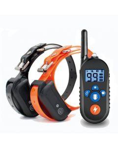 800m Electric Dog Training Collar, Hund Shock Collar W / 3 Training Mode, Electronic Dog Shock Training Collar med fjärrkontroll för små medelstora stora hundar
