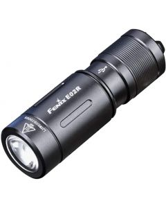 Fenix E02R CREE XP-G2 S3 Vit LED 200 lumens USB Uppladdningsbar Keychain ficklampa