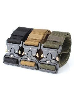 Enniu Tactical Belts Nylon Belt med metallspänne Justerbar Tunga träning Midja Bälte Jakt Tillbehör
