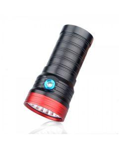 Sky Ray S118 18T6 18XCree XM-L T6 15000-Lumen USB Uppladdningsbar LED-ficklampa