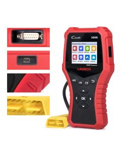 LAUNCH X431 CR3008 OBD2 Scanner Motorkodläsare OBD Car Diagnostics Tool Flerspråkig gratis uppdatering ODB2 Automotive Scanner