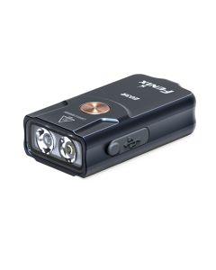 Fenix E03R 260 Lumens LED EDC USB Uppladdningsbar Mini Key Light Flicklampa