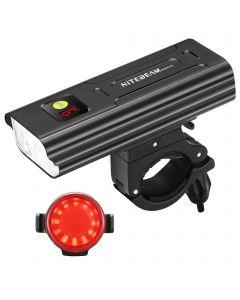 Nitebeam BR05 Cykelljus 5x Cree XML T6 5000 Lumens USB Uppladdningsbar cykel Ljus fram och cykellampa